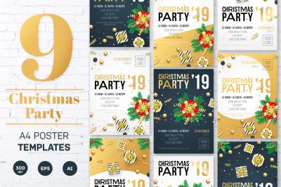Christmas Party Invitation tempates