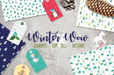 Winter Wow Christmas Collection
