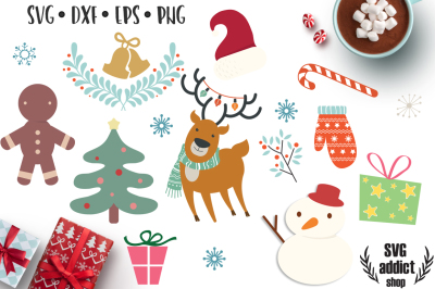 Christmas Gnome Svg.Holiday Craft Products Thehungryjpeg Com