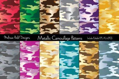 Metallic Camouflage Patterns