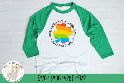 Lucky Charm Rainbow SVG Cut File