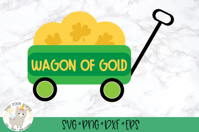 Wagon Of Gold SVG Cut File