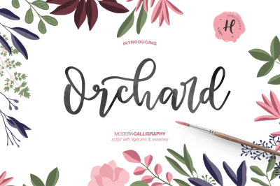 ORCHARD MODERN CALLIGRAPHY
