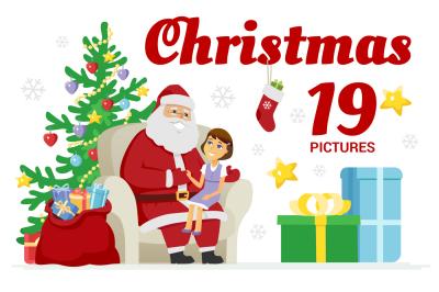 Christmas & New Year set