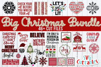 Big Christmas Bundle | Cut Files