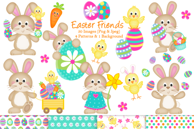 Easter clipart, Easter graphics and illustrations, Easter Bunny