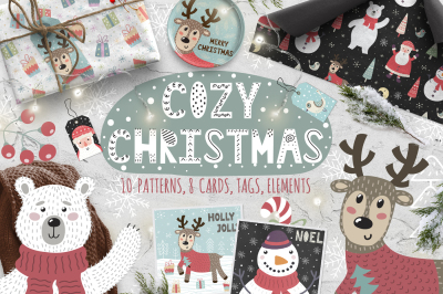 Cozy Christmas: patterns & cards