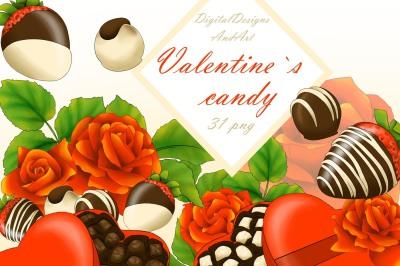 Valentine`s day clipart