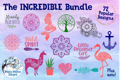 The Incredible Bundle - Mandala SVG Cut Files