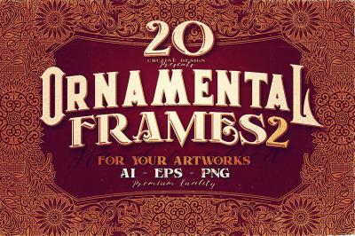 20 Ornamental Vintage Frames 2