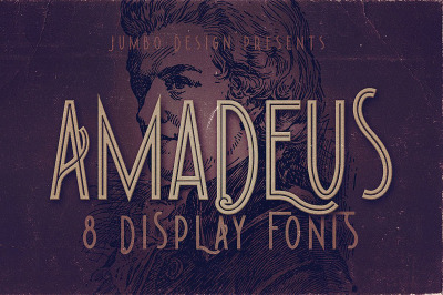 Amadeus - Display Font