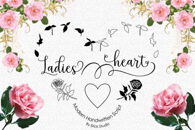 Ladies heart