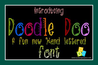 DoodleDoo Font