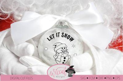 Snow man svg, christmas, scanncut, cricut, vinyl craft