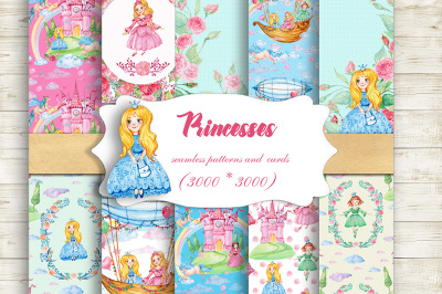 Princess Digital Patterns