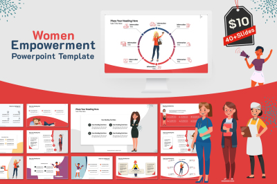 Women Empowerment PowerPoint Template