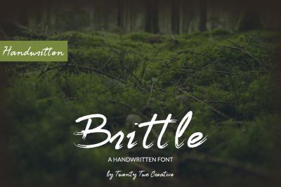 Brittle Font