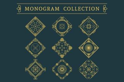 9 Vintage Monograms