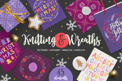 Knitting & Wreaths Kit