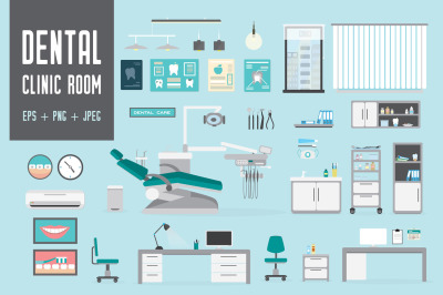 Dental equipment, tools and elements