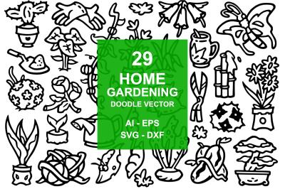 29 Home Garden Doodles