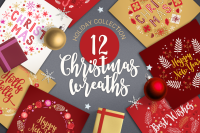 12 Christmas Wreaths