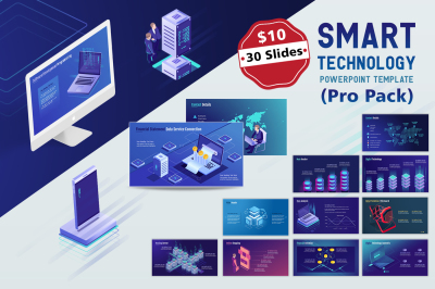 Smart Tech PPT Template (Pro pack)