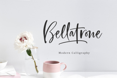 Bellatrone - Modern Script