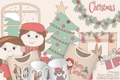 Christmas 01 - Vector and Clipart