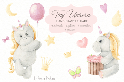 Tiny Unicorn Design Set