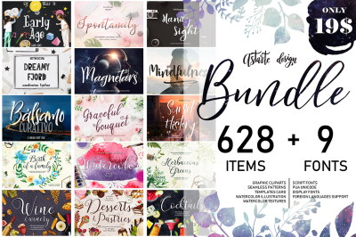 Astarte Bundle-Fonts+Graphics