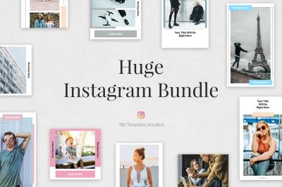 Huge Instagram Bundle