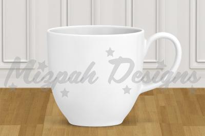 White Blank Mug Mock up Coffee Mug Cup White Minimalist Plain Mock up