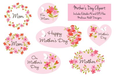 Mother's Day Clipart