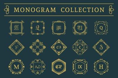 15 Vintage Monograms