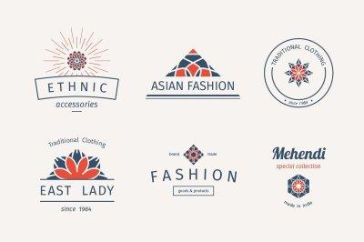 6 Fashion Logo Templates