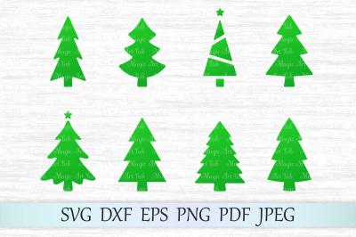 Christmas tree svg, Christmas tree cricut, Christmas tree svg file