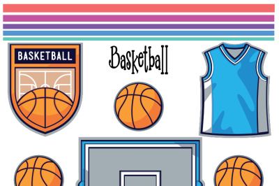 Basketball SVG, Basketball Clipart