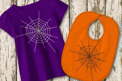 Halloween Spider Web   SVG   PNG   DXF
