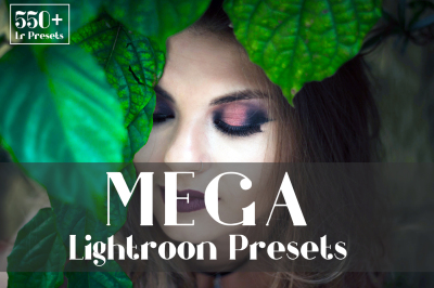 550+ Mega Lightroom Presets
