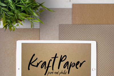 Digital Kraft Paper | A4 | Printable and for iPad