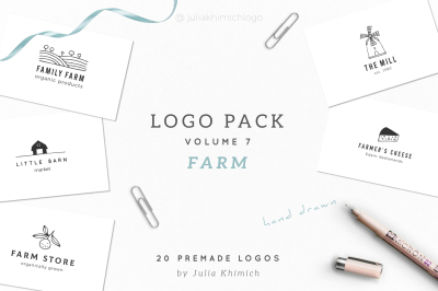 Logo Pack Volume 8. Farm