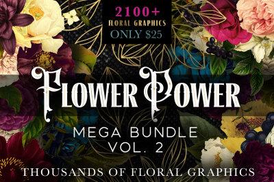 Flower Power Mega Bundle Vol. 2
