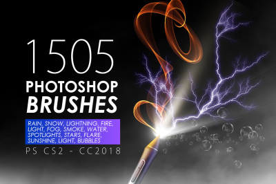1505 Visual Effect Photoshop Brushes