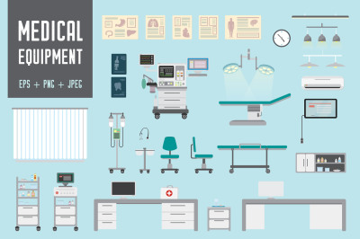 Set of Medical equipment