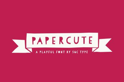 Papercute Font Pack