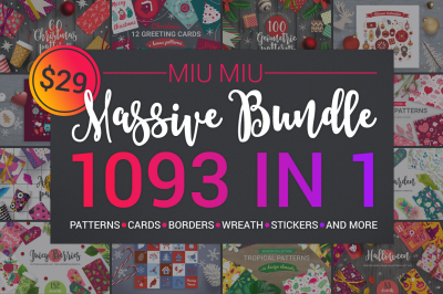 1093 in 1 Massive Bundle