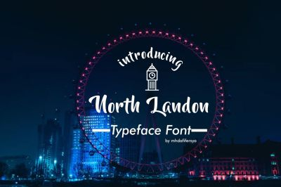 North Landon Typeface Font
