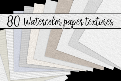 Watercolor Paper Textures