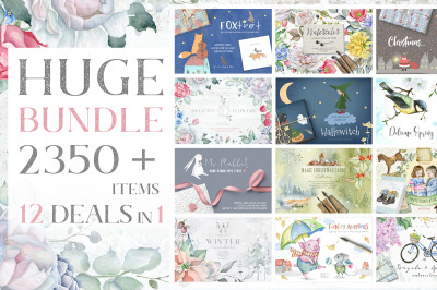 12 deals in 1 - Huge Bundle 80% OFF
